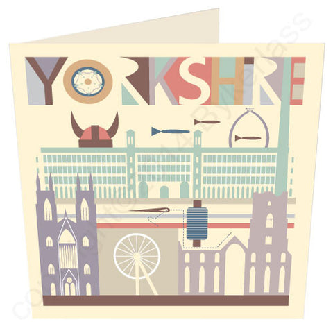 Yorkshire Scape - Yorkshire Card (YY20)