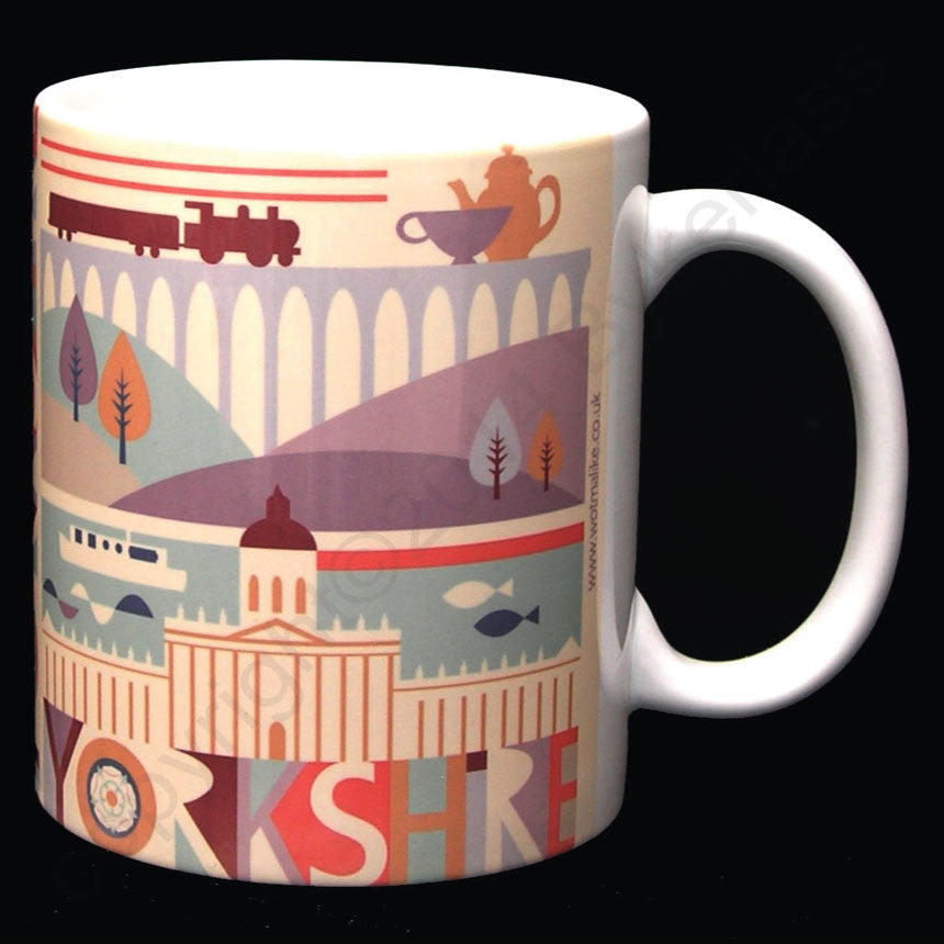 Yorkshire Scape Yorkshire Gifts Mugs