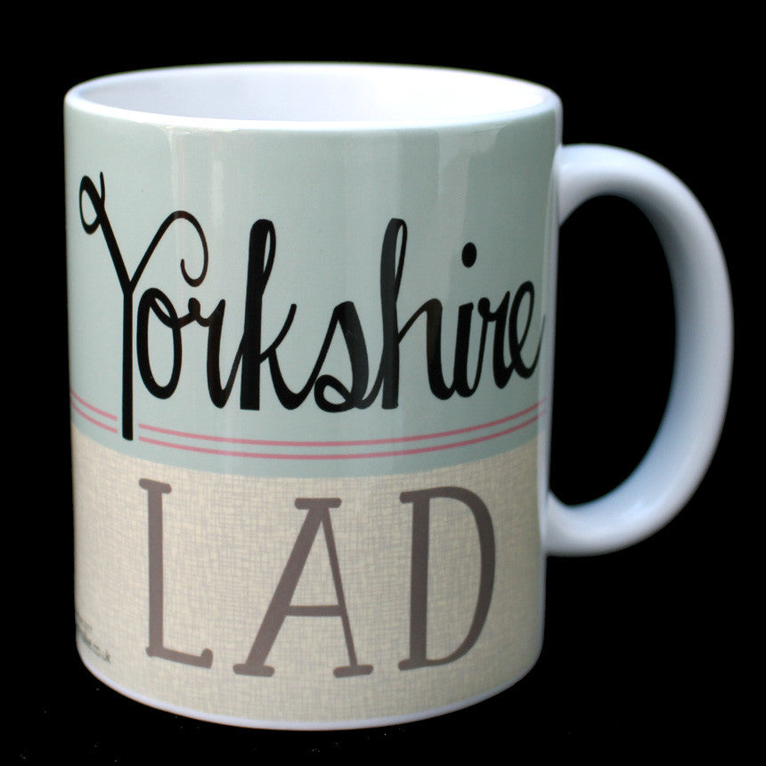 Yorkshire Lad- Yorkshire Speak Mug