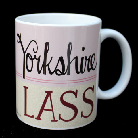Yorkshire Lass - Yorkshire Speak Mug (YSM11)