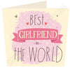 Best Girlfriend in ......  Personalised Card MB13