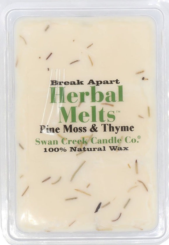 Swan Creek Pine Moss & Thyme Drizzle Melts