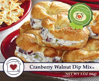 Country Home Creations Cranberry & Walnut Dip Mix