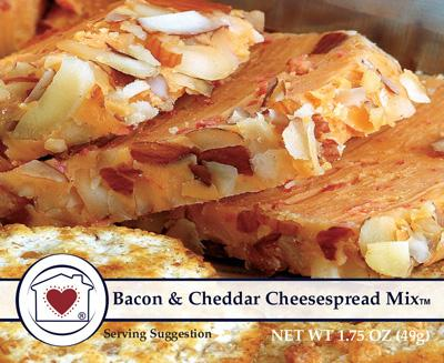 Country Home Creations Bacon & Cheddar Cheesespread Mix