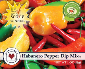 Country Home Creations Habanero Pepper Dip Mix