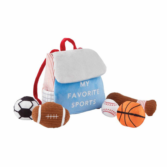 Mud Pie My Favorite Sports Plush Set