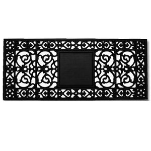 "Rubber Door Mat 17"" x 41"""