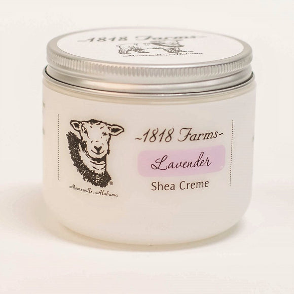 1818 Farms Lavender 4oz Shea Creme