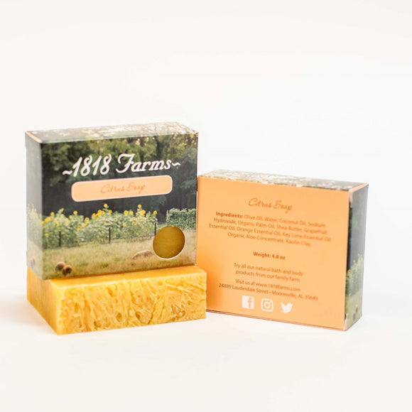1818 Farms Citrus Handcrafted Soap