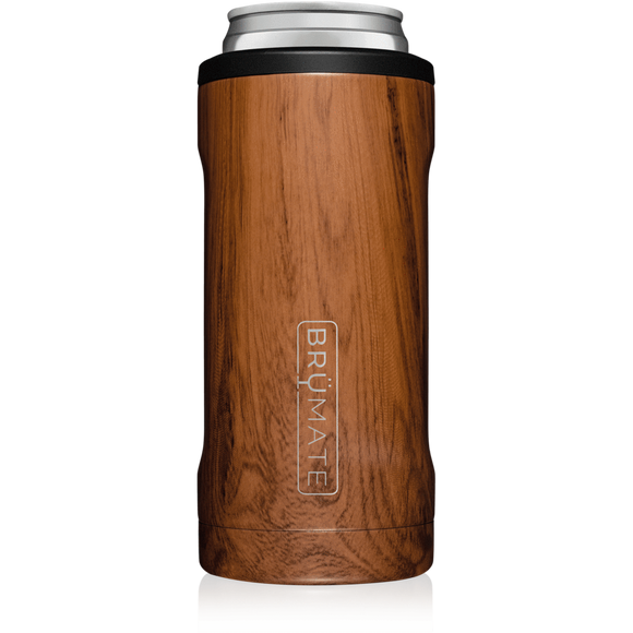 BrüMate Walnut Hopsulator Slim (12oz slim cans)