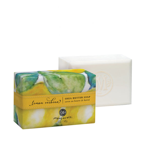 Mangiacotti Lemon Verbena Shea Butter Bar Soap