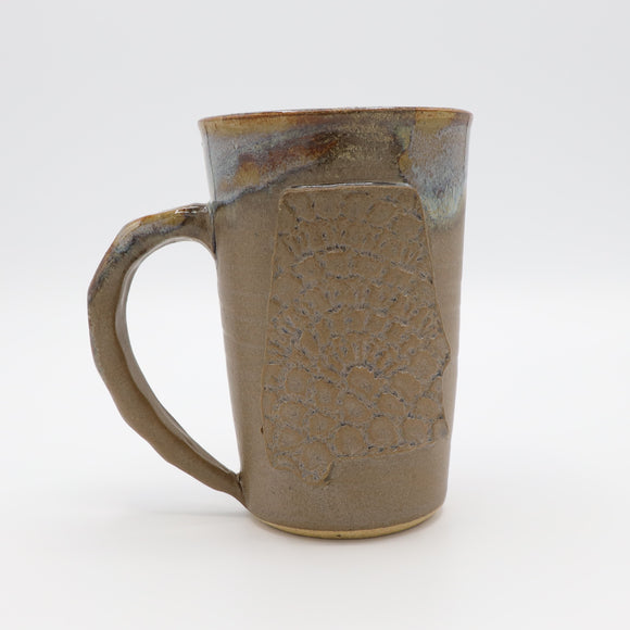 Fingerprint Alabama Mug - Mocha