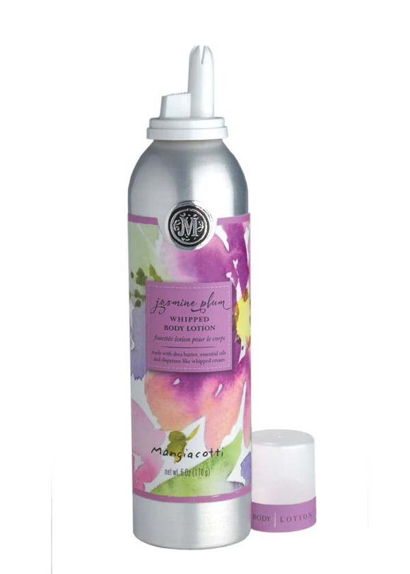 Mangiacotti Jasmine Plum Whipped Body Lotion