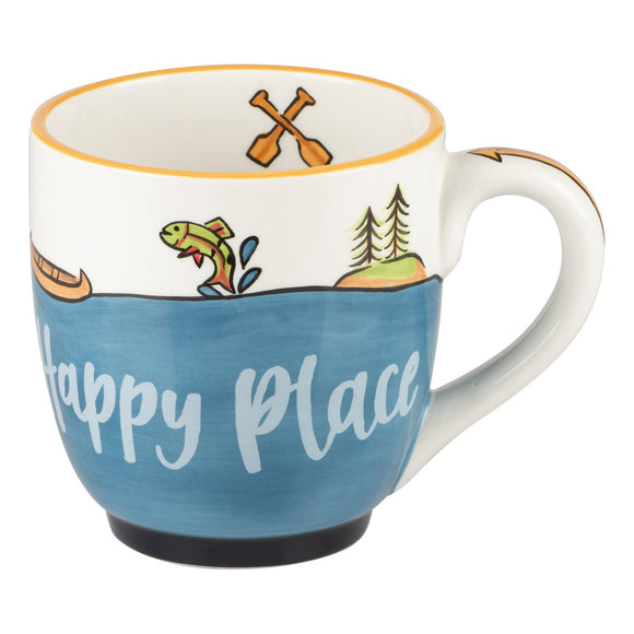 Glory Haus The Lake is My Happy Place Mug