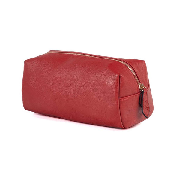Alexa Toiletry Bag - Red