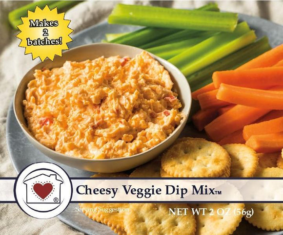 Country Home Creations Cheesy Veggie Dip Mix