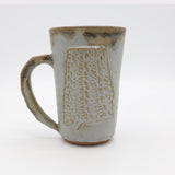 Fingerprint Alabama Mug - River Rock