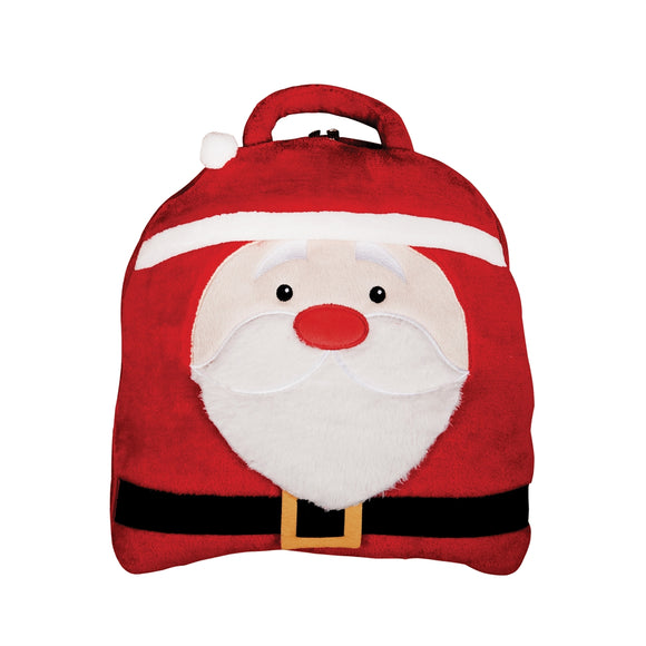 Santa Pillow Blanket