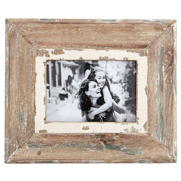 Mud Pie Medium Wood Weathered Frame