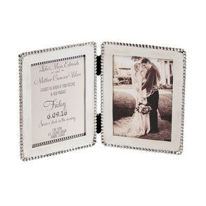 Mud Pie Microbead Invitation/Announcement Frame