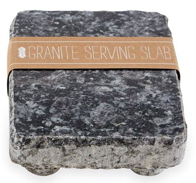 Mud Pie Black Granite Serving Stone