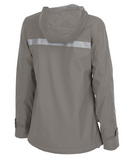 Charles River Grey New Englander Rain Coat