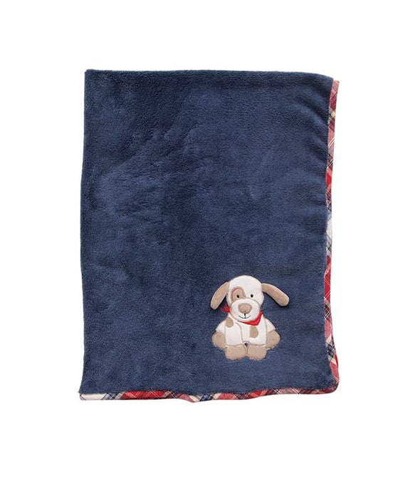 Maison Chic Plush Blanket - Max the Puppy