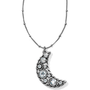 Brighton Halo Moon Necklace