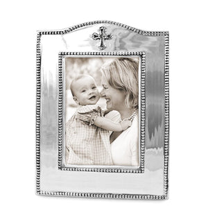 "Beatriz Ball BABY Cross Vertical Frame 4""x6"""