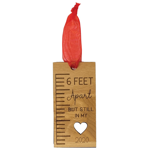 6 Feet Apart Ornament