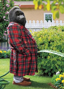 Avanti Press Gorilla Garden Hose Card