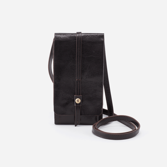 Hobo Token Wallet Crossbody-Black