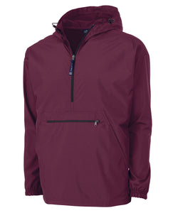 Charles River Maroon Pack-N-Go Pullover
