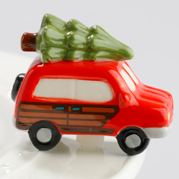Nora Fleming Woody Truck & Tree