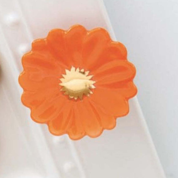 Nora Fleming Orange Flower Mini