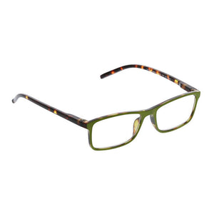 Peepers Adorn Green & Tortoise Glasses