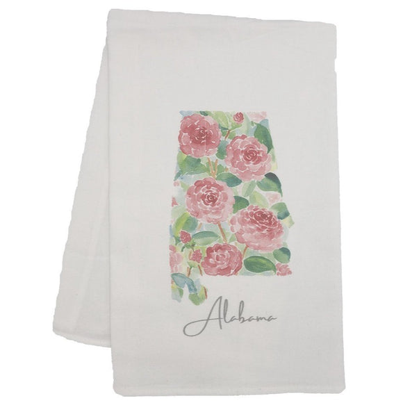 Flour Sack Towel -  Alabama State Flower