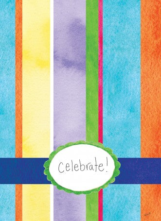 Celebrate Stripes Card