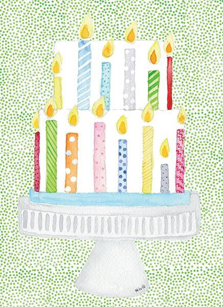 Kris-10's Creations Cake Candles Card