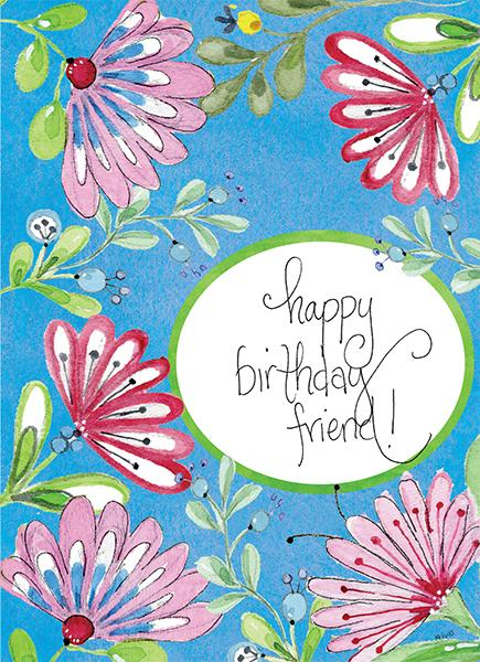 Kris-10's Creations Bright Birthday Friend Card