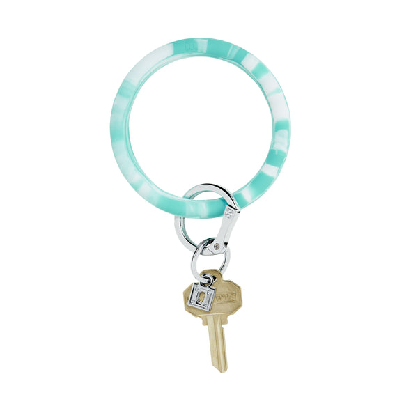 O-Venture Big O® In The Pool Marble Silicone Key Ring