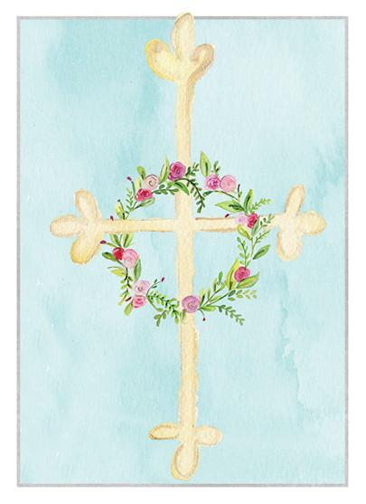 Baptismal Blessings Card