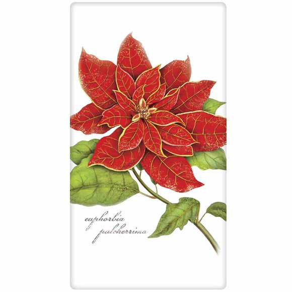 Mary Lake-Thompson Poinsettia Bagged Towel