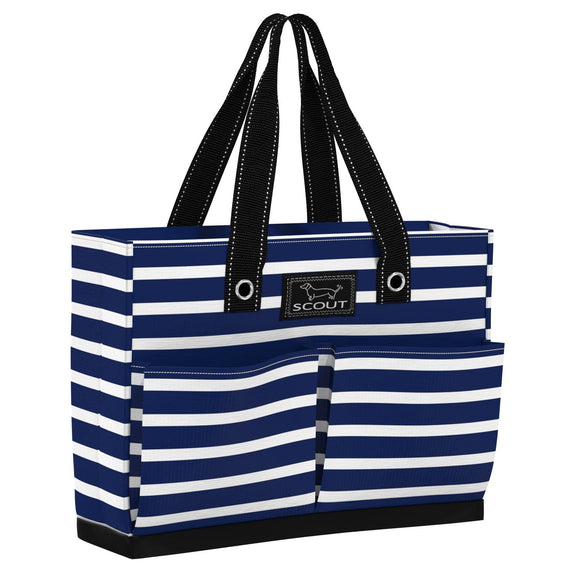 Scout Nantucket Navy Uptown Girl Pocket Tote Bag