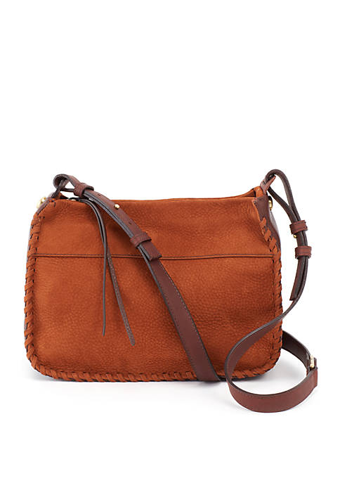 Hobo Banjo Crossbody - Tobacco Nubuck Hide