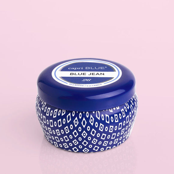 Capri Blue® Blue Signature Mini Tin, 3 oz - Blue Jean