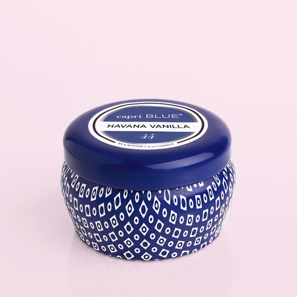 Capri Blue® Blue Signature Mini Tin, 3 oz - Havana Vanilla