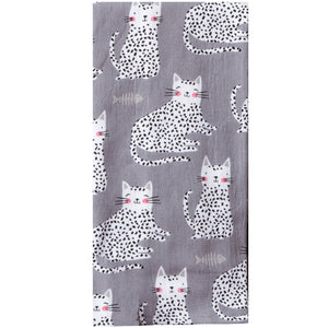 Cat Dual Purpose Terry Towel
