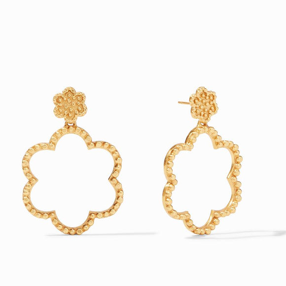 Julie Vos Colette Statement Earrings - Gold