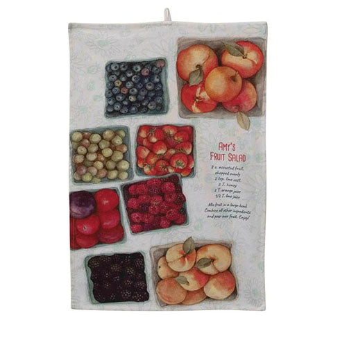 Amy's Fruit Salad Dish Towel